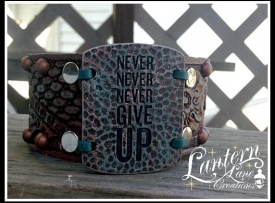 cuff never give up