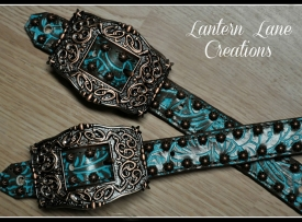 Spur Straps made for Nikki Steffes