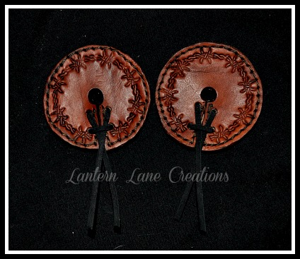 Stamped Barbed Wire Bit Guards By Lantern Lane Creations