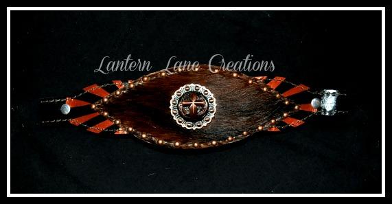 Retro Bronc Noseband By Lantern Lane Creations