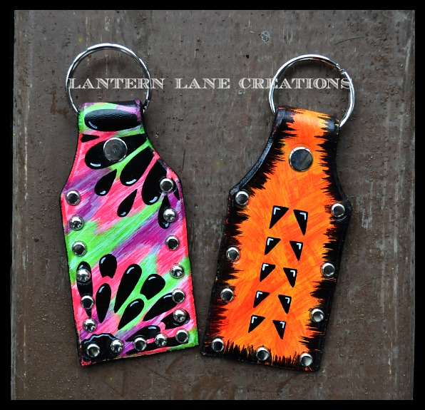 Painted Keychain Lantern Lane Creations